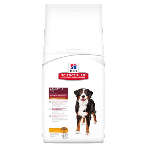 Корм Hills SP Advanced Fitness Large Breed Adult для собак крупных пород с курицей 18 кг