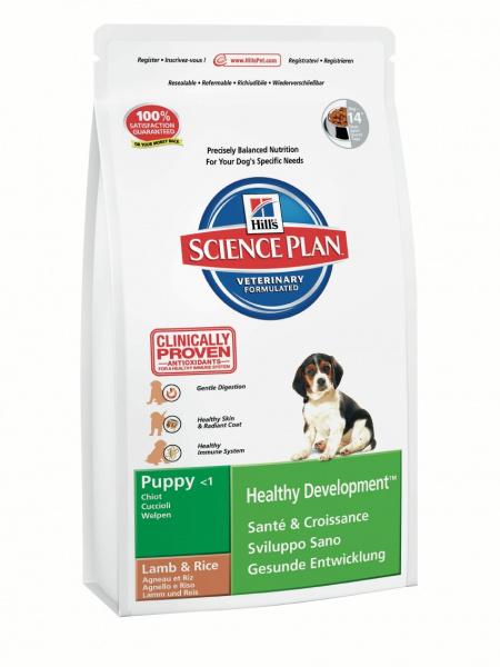 Корм Hills SP Healthy Development Puppy для щенков с ягненком и рисом 18 кг