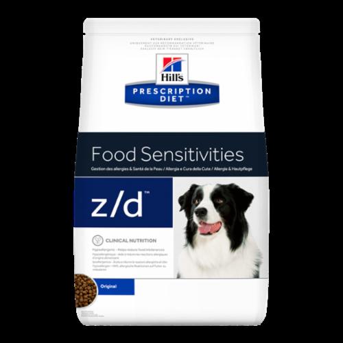 Корм Hills Food Sensitivities Z/D для собак при лечении острых пищевых аллергий 10 кг