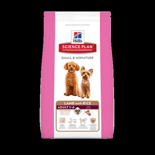 Корм Hills SP Small & Miniature Adult для собак мелких и миниатюрных пород с ягненком и рисом 3 кг