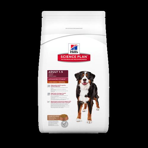 Корм Hills SP Advanced Fitness Large Breed Adult для собак крупных пород с ягненком и рисом 12 кг